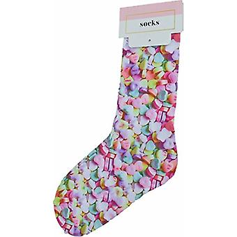 TwelveNYC | Celebrate Shop Women's Candy Hearts Printed Socks