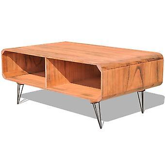 vidaXL Sohvapöytä 90×55,5×38,5 cm Paulownia Massiivipuu Ruskea