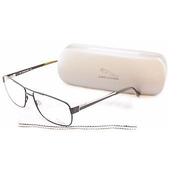 جاكوار نظارات الإطار 33068-853 ميتا الأسود عالية الجودة ألمانيا 60-15-145