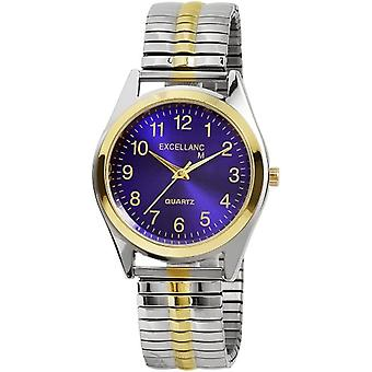Excellanc 270013000008 - Men's watch with metal strap