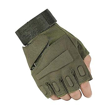 Outdoor Sports Army Full Finger Combat Motorfiets Slip-resistente Koolstofvezel