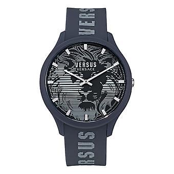 Versace VSP1O0221 メンズドムスラバーストラップ腕時計