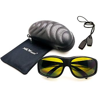 Laser Safty Schutzbrille Brille 190-450 & 800-2000nm Typisch für 355nm 405nm 445nm 450nm 808nm