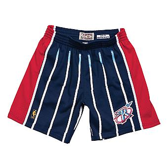 M&N NBA Houston Rockets Road 1996-97 Swingman Shorts