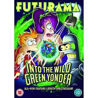 Futurama - Into The Wild Green Yonder DVD