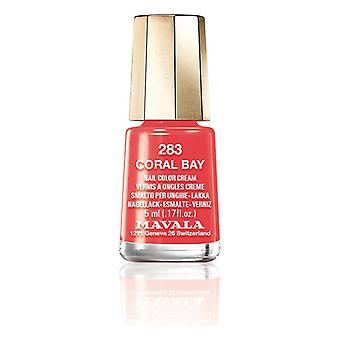 Nail polish Nail Color Mavala 283-coral bay (5 ml)