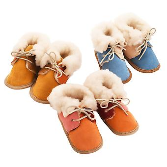 Deluxe Sheepskin Vauvan bootees