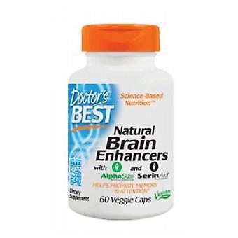 Doctors Best Natural Brain Enhancers, 60 Veggie Caps