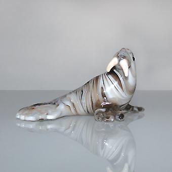Ornamento in vetro in miniatura Objets d'Art - Tricheco
