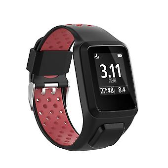 Replacement Band Silicone Strap For Tomtom Adventurer / Runner 2 3 / Spark 3