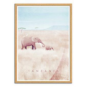 Art-Poster - Visit Tanzania - Henry Rivers
