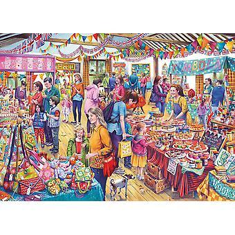 Gibsons Village Tombola Puzzle (500 pezzi XL)