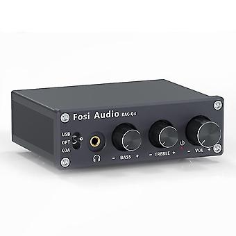 Mini Stereo Usb Gaming Dac & Headphone Amplifier Audio Converter Adapter