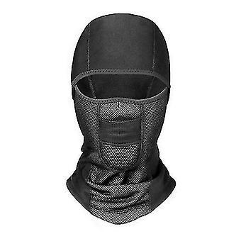 Coola hattar unisex vinter varm hatt vindtät motorcykel ansiktsmask hals hjälm masker för sport cykel hattar