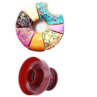 ビスケットデザートのための3個のドーナツ型のケーキ型のベーキングツール