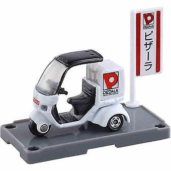 Takeaway Moto Dreirad Auto Spielzeug Simulation Mini Auto Modell