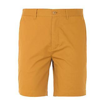 Fred Perry Classic Twill Shorts - Dark Caramel