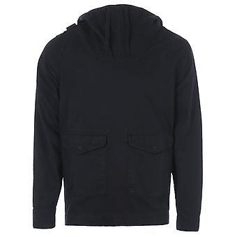 MA.Strum GD Hooded Smock Jacket - Black