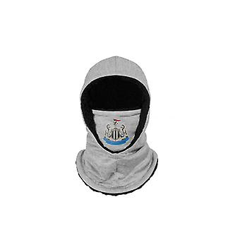 Newcastle United FC Hooded Snood Grey Adults