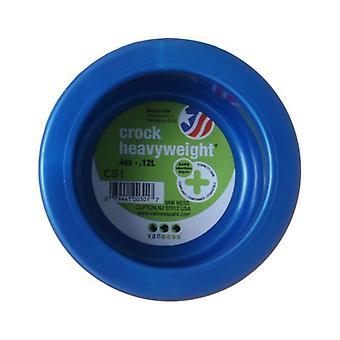"Van Ness Crock Heavyweight Dish - Mini - 3-5/8"" Diameter (4 oz)"