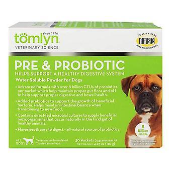 Tomlyn Pre et poudre hydrosoluble probiotique pour chiens - 30 compte