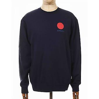 Edwin Jeans Japansk Soltröja - Navy Blazer