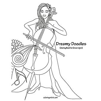 Dreamy Doodles Coloring Book for Grown-Ups 6 (Dreamy Doodles)