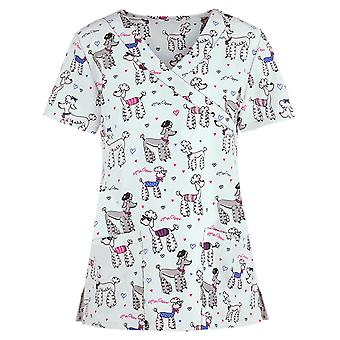 Animal Print Sexy V-neck Uniform