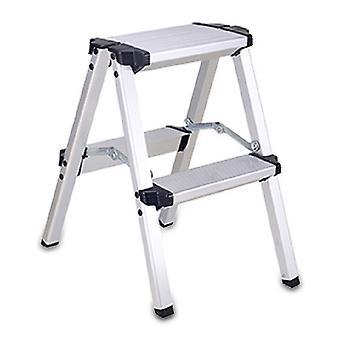 Homemiyn Escalera doméstica Escalera antideslizante Escalera de aluminio de doble cara