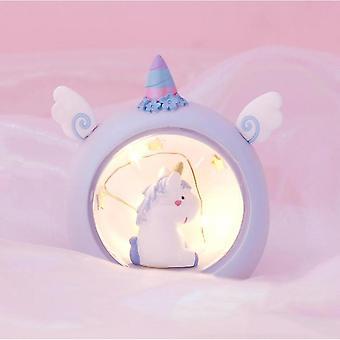 Lumière de nuit Licorne, Cadeau d'anniversaire pour les filles, Veilleuse dans la chambre des enfants