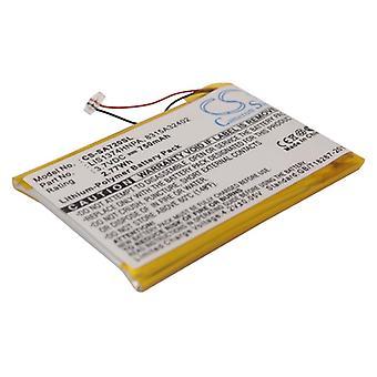 Battery for Sony Walkman NWZ-820 NWZ-A720 NWZ-A726 NWZ-A728 NWZ-A829 LIS1374HNPA