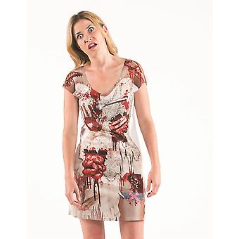 Faux Real Zombie Bride Dress
