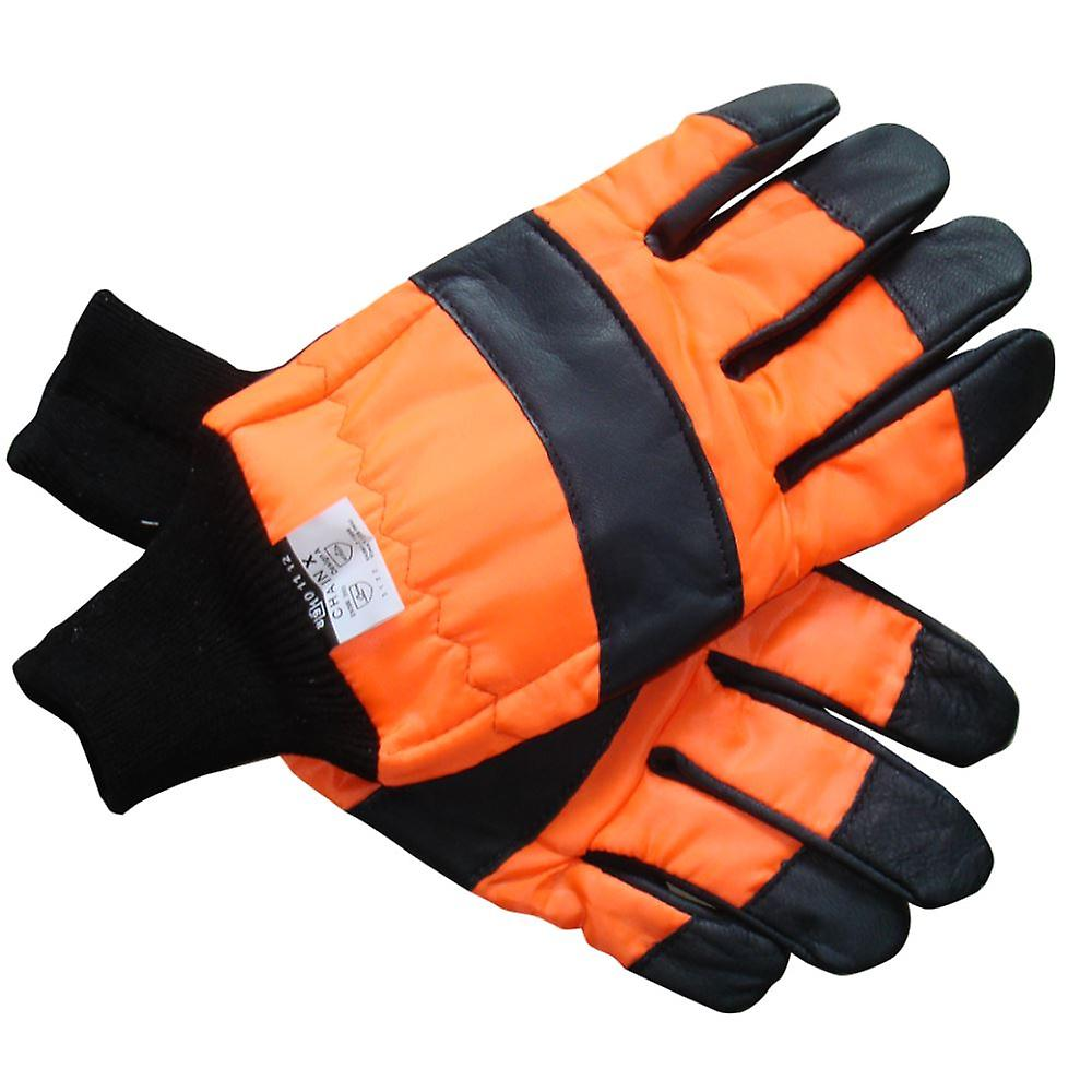 CHAINSAW SAFETY GLOVES CLASS 1 SIZE 9
