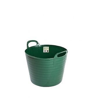 42lt Flexi Tub Green Garden Bauherren Eimer biegsamen Kunststoff
