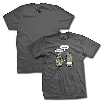 Ranger Up You're Loud T-Shirt - Gray