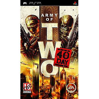 Army of Two 40. Tag Sony PSP Spiel