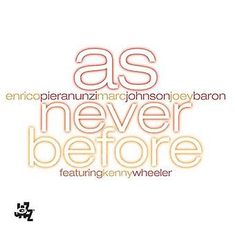 Pieranunzi/Johnson - As Never Before [CD] USA import