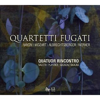 Rincontro Quartet - Quartetti Fugati [CD] USA import