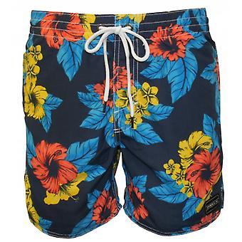 О ' Нил PM Bondi цветочные плавать шорты, синий/зеленый/мульти
