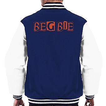 Trainspotting T2 Begbie újság nyomtatás Men ' s Varsity Jacket