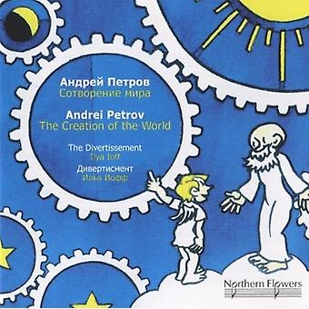 Divertissement String Orchestra - Andrei Petrov - Creation of the World [CD] USA import