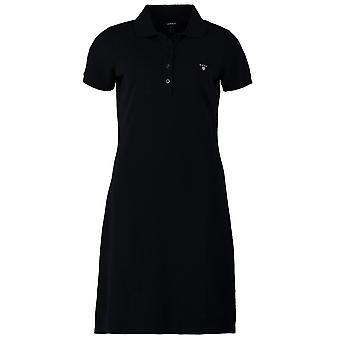 GANT Piqué Polo Vestido de mujer Original - Marina