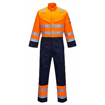 Portwest - RIS Modaflame Oi-Vis segurança Workwear Coverall Boilersuit