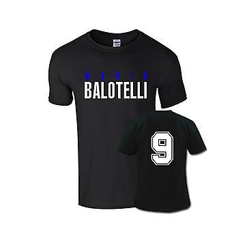 Mario Balotelli Front Name T-shirt (schwarz)