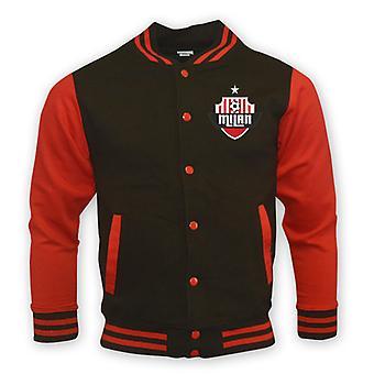 Ac Milan College Baseball Kurtka (czarny) - Dzieci
