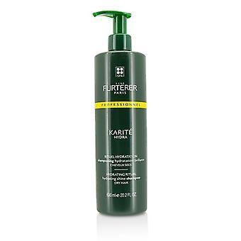 Rene Furterer Karite Hydra hidratante ritual hidratante Shine shampoo-cabelos secos (produto salão)-600ml/20.2 oz