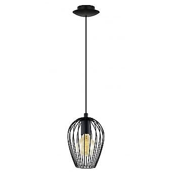 Eglo Edgy Newtown Minature Caged Ceiling Pendant