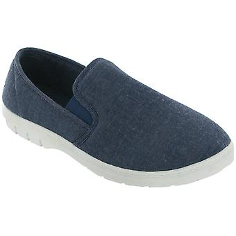 Mirak Tommy Canvas Slip-On / Mens Shoes