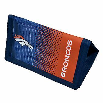 Denver Broncos Official NFL Fade Crest Design Wallet