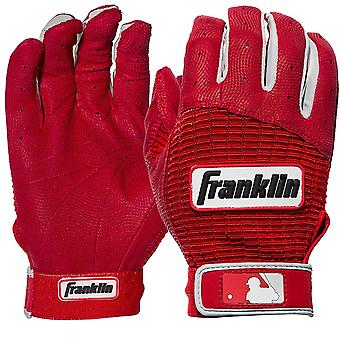 Franklin Jugend Pro Classic MLB Batting Gloves - rot/rot